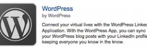 WordPress op LinkedIn