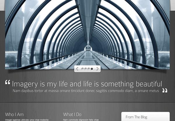 Deep Focus WordPress theme