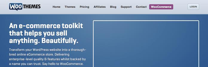 WooCommerce webshop