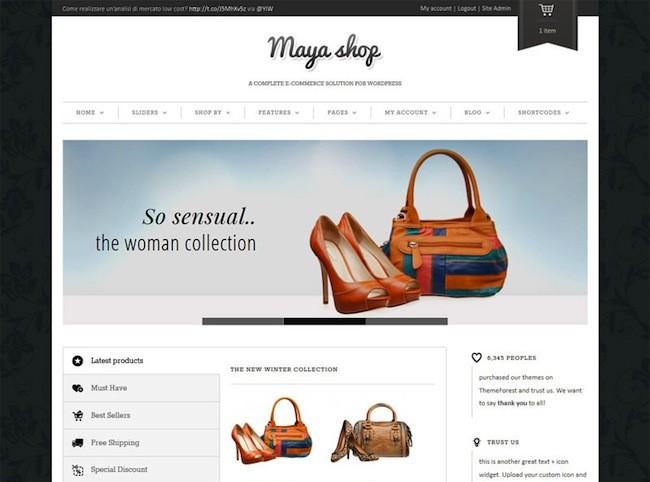 Webshop starten WordPress