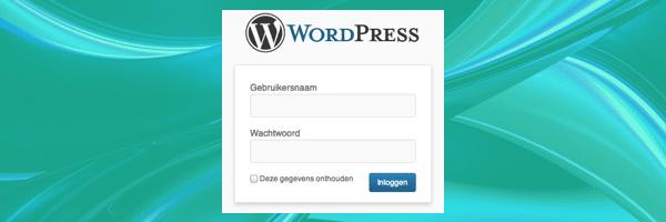 custom wordpress login