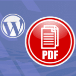 PDF download button in WordPress