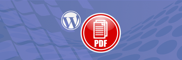PDF download button WordPress