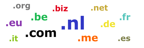 domeinnamen registreren