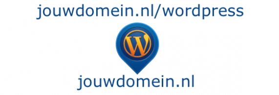 WordPress naar root