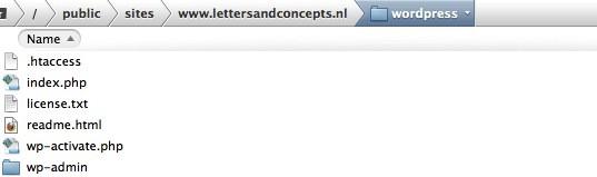 FTP bestanden