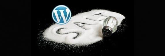 WordPress secret keys