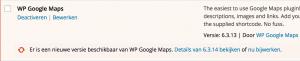 update google maps plugin