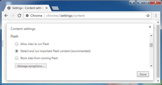 flash activeren voor magento