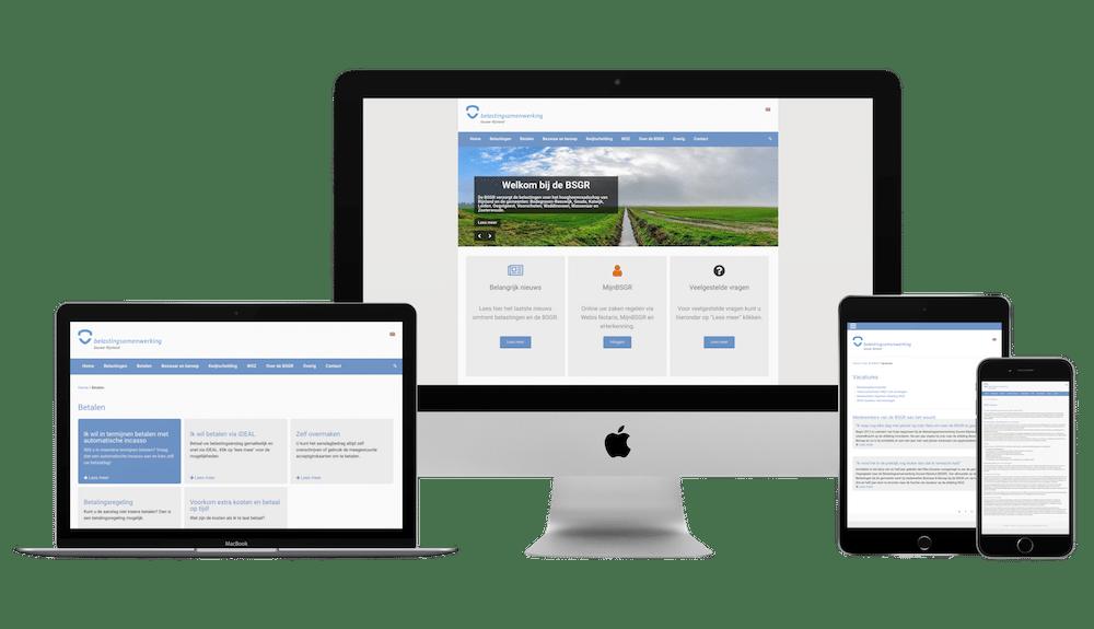 BSGR maatwerk WordPress thema