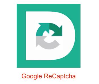 wordpress reacties google recatcha
