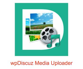 wpDiscuz media uploader