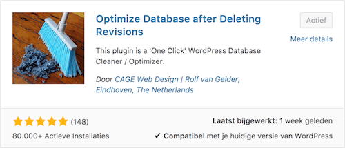 Wordpress database optimaliseren met een plugin indigo webstudio - Optimaliseer de studio ...