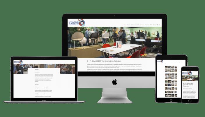 wordpress website design district
