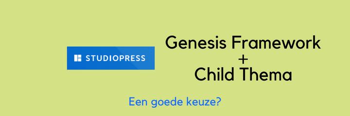 genesis framework wordpress thema