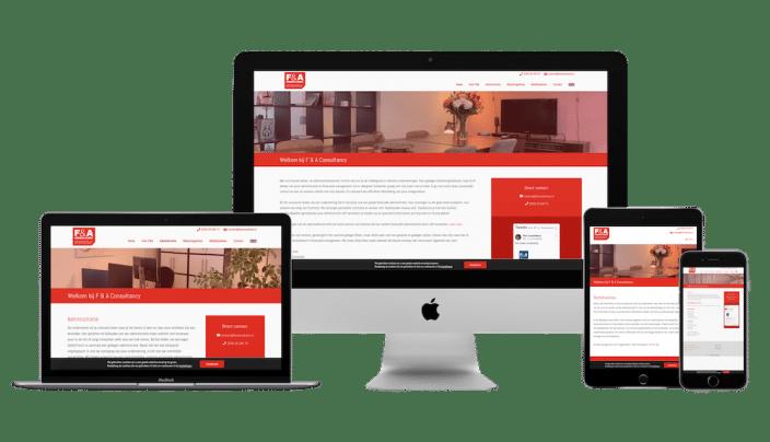 fa consultancy custom wordpress thema