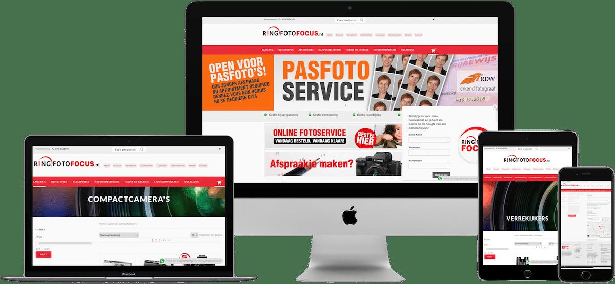 ringfotofocus woocommerce webshop